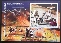 Poštovní známka Rovníková Guinea 1972 Apollo 15 Mi# Block 1 Kat 7€