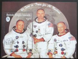 Poštovní známka Panenské ostrovy 1989 Posádka Apollo 11 Mi# Block 56 Kat 12€