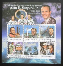 Poštovní známky Mosambik 2011 Alan Shepard Mi# 4605-10 Kat 12€