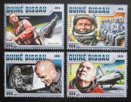 Poštovní známky Guinea-Bissau 2016 John Glenn, kosmonaut Mi# 8748-51 Kat 12.50€