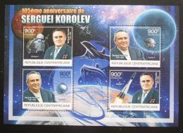 Poštovní známky SAR 2012 Sergej Koroljov, raketový inženýr Mi# 3852-55 Kat 16€