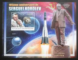 Poštovní známka SAR 2012 Sergej Koroljov, raketový inženýr Mi# Block 985 Kat 14€
