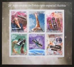 Poštovní známky Svatý Tomáš 2010 Hubbleùv vesmírný dalekohled Mi# 4536-41 Kat 12€