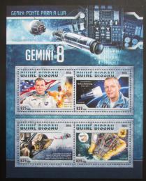 Poštovní známky Guinea-Bissau 2016 Kosmický let Gemini 8 Mi# 8743-46 Kat 12.50€