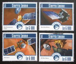 Poštovní známky Sierra Leone 2015 Prùzkum Marsu Mi# 6274-77 Kat 11€