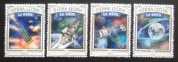 Poštovní známky Sierra Leone 2016 Prùzkum Mìsíce Mi# 7843-46 Kat 11€