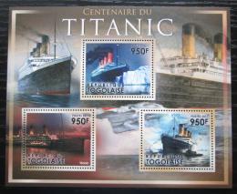Poštovní známky Togo 2011 Loï Titanic Mi# 4245-47 Kat 11€