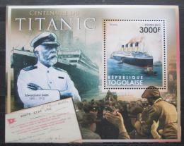 Poštovní známka Togo 2011 Loï Titanic Mi# Block 658 Kat 12€