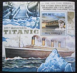 Poštovní známka Mosambik 2011 Loï Titanic Mi# Block 555 Kat 10€