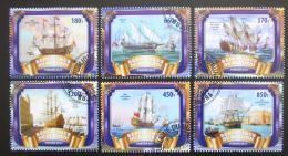 Poštovní známky Burundi 2017 Staré plachetnice Mi# N/N