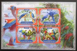 Poštovní známky Mali 2017 Papoušci Mi# N/N