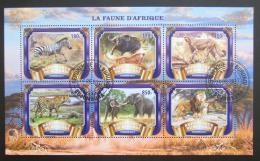 Poštovní známky Burundi 2017 Africká fauna Mi# N/N