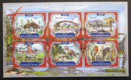 Poštovní známky Mali 2017 Dinosauøi Mi# N/N