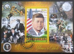 Poštovní známka Pobøeží Slonoviny 2012 John F. Kennedy Mi# N/N