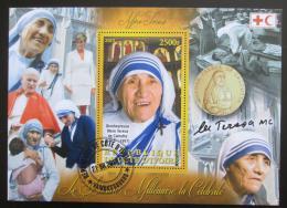 Poštovní známka Pobøeží Slonoviny 2012 Matka Tereza Mi# N/N