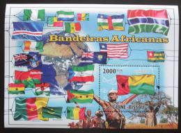 Poštovní známka Guinea-Bissau 2010 Vlajky afrických zemí Mi# Mi# 4932