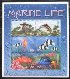 Poštovní známky Tuvalu 2000 Moøská fauna Mi# 888-93 Kat 10€