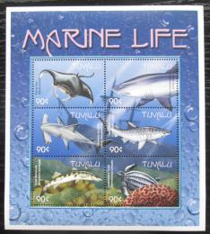 Poštovní známky Tuvalu 2000 Moøská fauna Mi# 876-81 Kat 10€