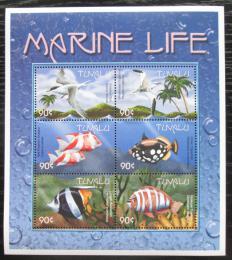 Poštovní známky Tuvalu 2000 Moøská fauna Mi# 894-99 Kat 10€