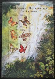 Poštovní známky Antigua 2000 Motýli Mi# 3122-27 Kat 10€