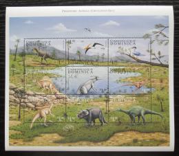 Poštovní známky Dominika 1999 Dinosauøi Mi# 2670-78 Kat 9.50€