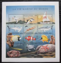 Poštovní známky Komory 1998 Moøská fauna Mi# 1246-57 Kat 12€