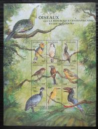 Poštovní známky SAR 2000 Ptáci, velký arch Mi# 2432-40 Kat 15€