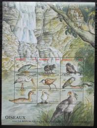 Poštovní známky SAR 2000 Ptáci, velký arch Mi# 2441-49 Kat 17€