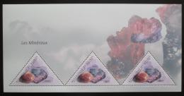Poštovní známky Guinea 2011 Minerály Mi# Block 1978 Kat 18€