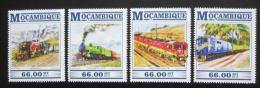 Poštovní známky Mosambik 2015 Africké lokomotivy Mi# 8049-52 Kat 15€