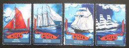Poštovní známky Niger 2016 Plachetnice Mi# 4272-75 Kat 12€