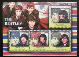 Poštovní známky SAR 2012 The Beatles Mi# 3742-45 Kat 16€