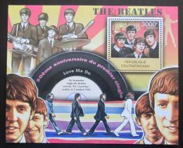 Poštovní známka SAR 2012 The Beatles Mi# Block 965 Kat 14€