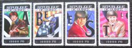 Poštovní známky Guinea 2014 The Beatles Mi# 10477-80 Kat 20€