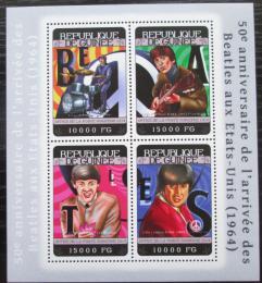 Poštovní známky Guinea 2014 The Beatles Mi# 10477-80 Bogen Kat 20€