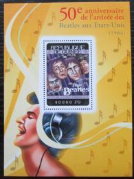 Poštovní známka Guinea 2014 The Beatles Mi# Block 2391 Kat 16€