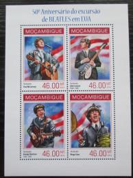 Poštovní známky Mosambik 2014 The Beatles Mi# 7180-83 Bogen Kat 11€