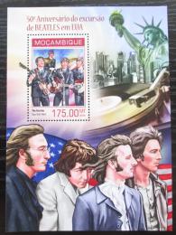 Poštovní známka Mosambik 2014 The Beatles Mi# Block 876 Kat 10€