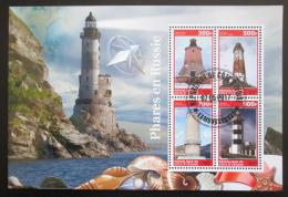 Poštovní známky Pobøeží Slonoviny 2017 Majáky Mi# N/N