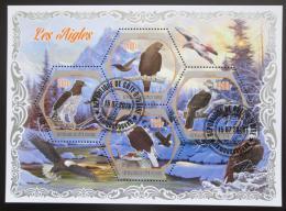 Poštovní známky Pobøeží Slonoviny 2018 Orli Mi# N/N