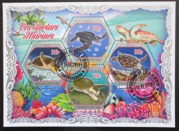 Poštovní známky Pobøeží Slonoviny 2018 Želvy Mi# N/N