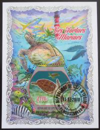 Poštovní známka Pobøeží Slonoviny 2018 Želvy Mi# N/N