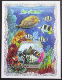 Poštovní známka Pobøeží Slonoviny 2018 Ryby Mi# N/N