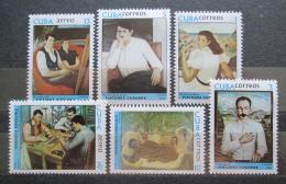 Poštovní známky Kuba 1977 Umìní, Jorge Arche Mi# 2234-39