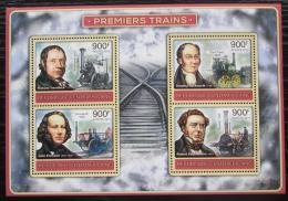 Poštovní známky SAR 2012 Parní lokomotivy Mi# 3822-25 Kat 16€