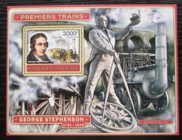 Poštovní známka SAR 2012 Parní lokomotivy Mi# Block 979 Kat 14€