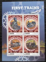 Poštovní známky Sierra Leone 2016 Parní lokomotivy Mi# 7123-26 Kat 11€