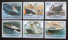 Poštovní známky Mosambik 2012 Loï Titanic Mi# 6014-19 Kat 14€