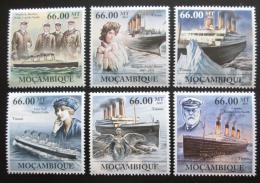 Poštovní známky Mosambik 2011 Loï Titanic Mi# 5260-65 Kat 23€