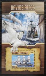 Poštovní známka Guinea-Bissau 2016 Plachetnice Mi# Block 1492 Kat 12.50€